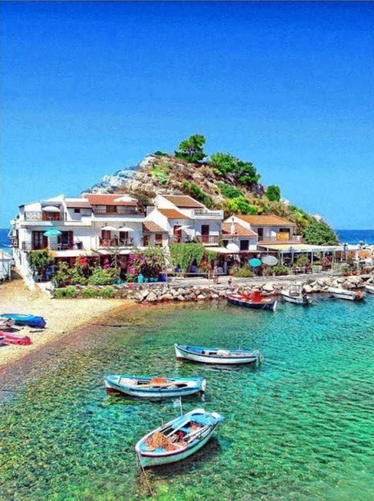 isla de Samos en Grecia
