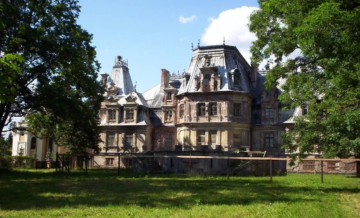 Palacio Encantado de Overgrown