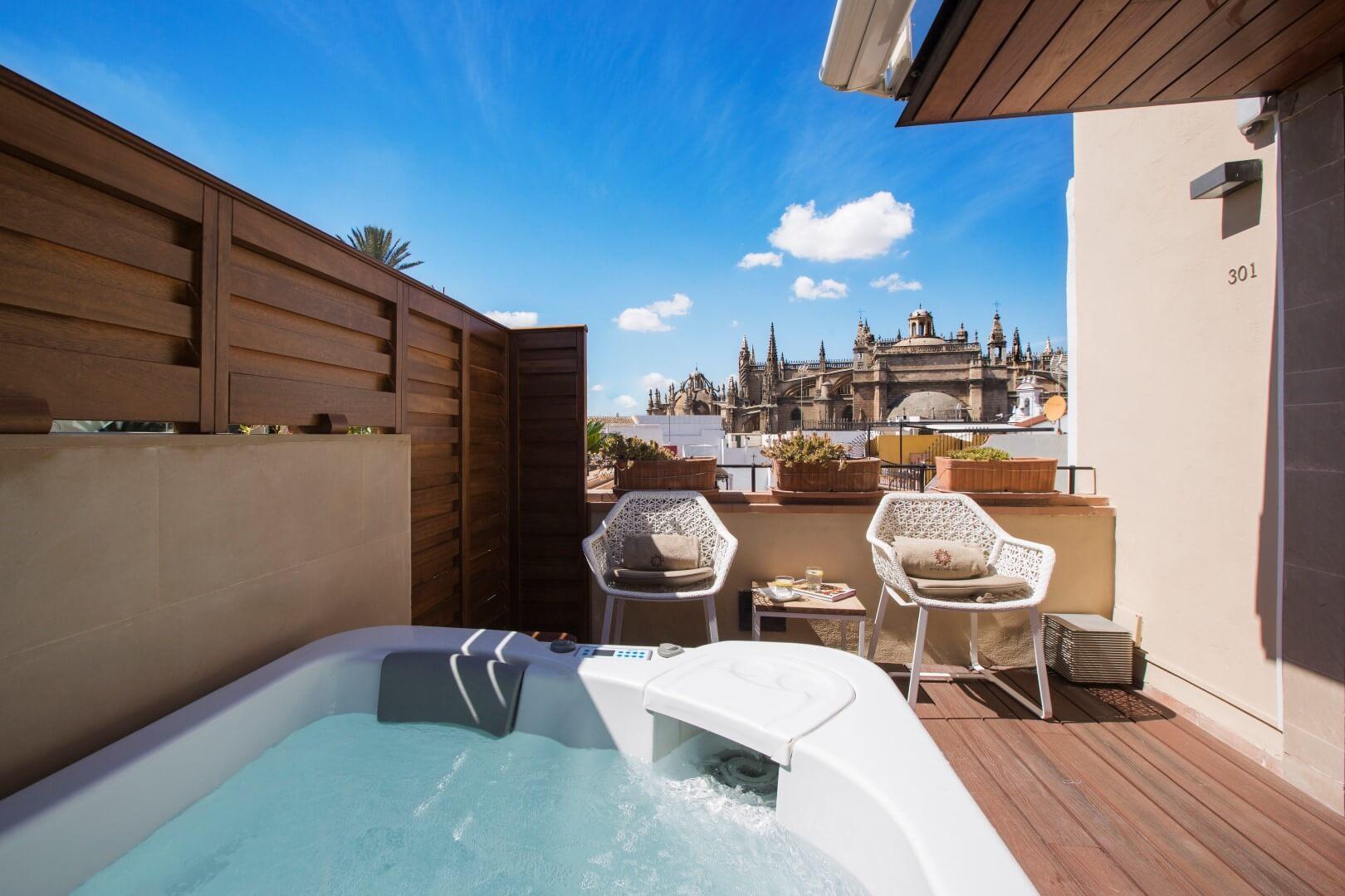 10 hoteles con jacuzzi en la habitaci n que visitar en espa a - Hotel casa espana villaviciosa ...
