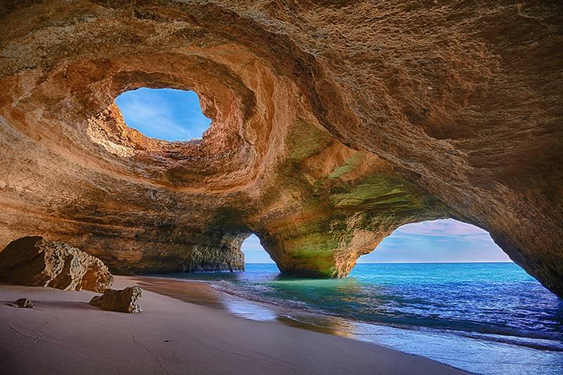 Benagil Cave en el Algarve