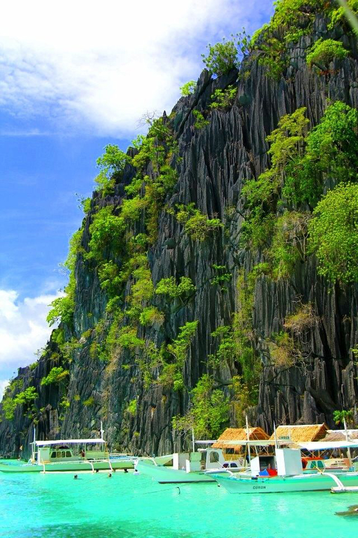 banol beach en las filipinas
