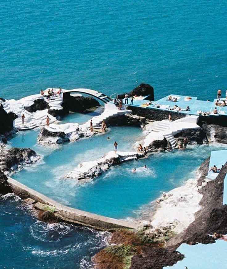 escapada a las piscinas de lava de madeira portugal