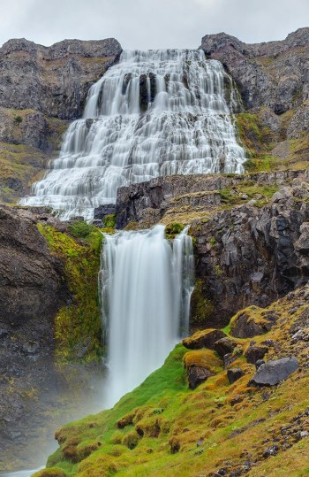 cascada de Dynjandi